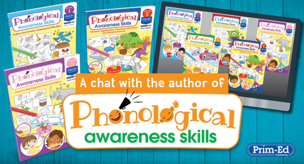 A Chat with the author: Phonological Awareness Skills