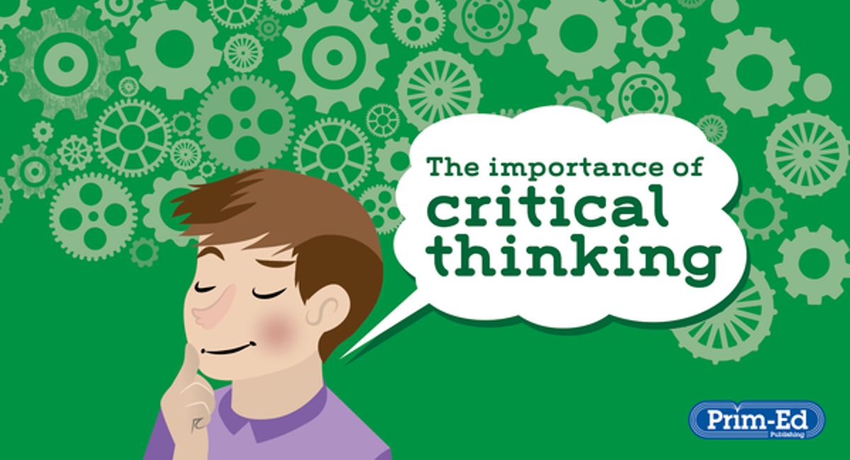 Critical thinking is important sample cover letter for teachers in ontario