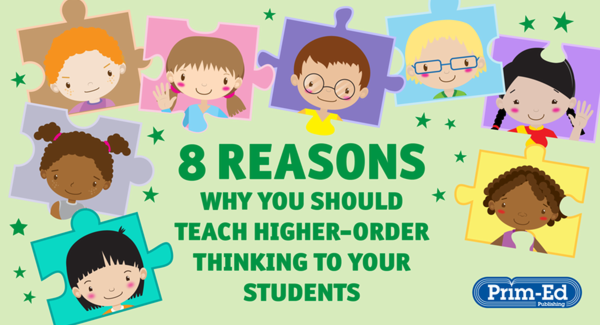 Reasons to teach higher-order thinking to your pupils