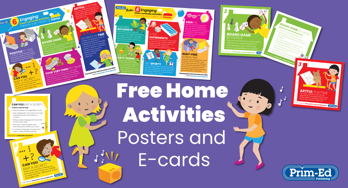 Free learning at home cross-curricular activities