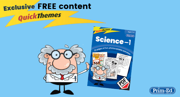 Exclusive FREE Science-1 QuickThemes