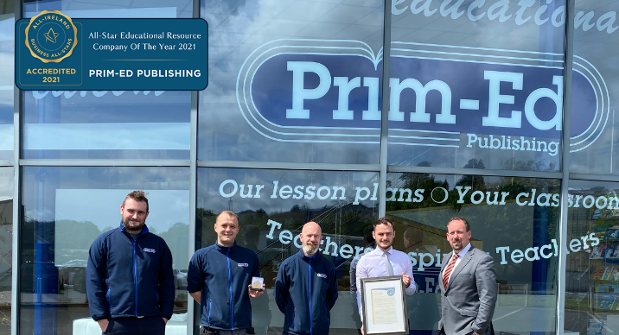 Prim-Ed Publishing Achieves Business All-Star Best in Class Accreditation