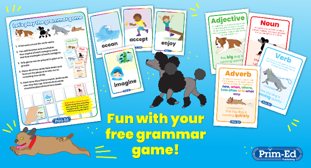 Free Grammar Game
