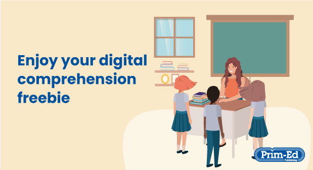 Free Digital Comprehension Resource Pack