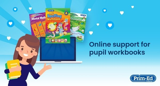 Pupil workbooks online support