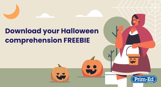 Halloween comprehension freebie