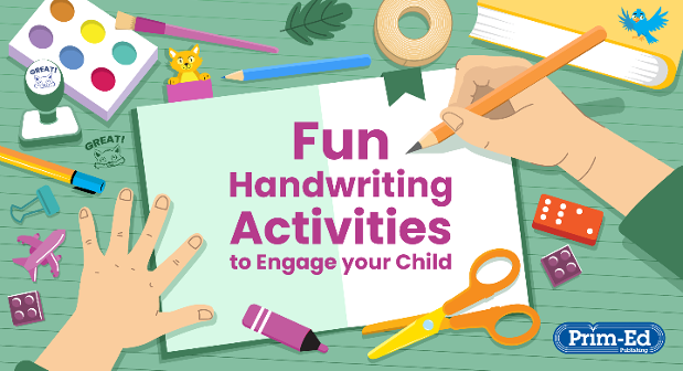 Fun Handwriting Activities to Engage your Child
