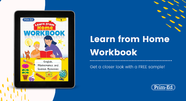 Free Learn From Home Workbook Resource Pack