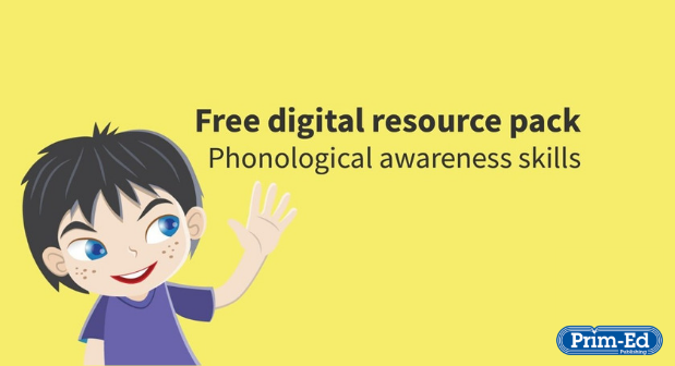 Phonological awareness skills - Free digital resource pack