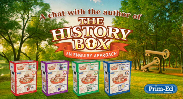 A Chat with the author: The History Box