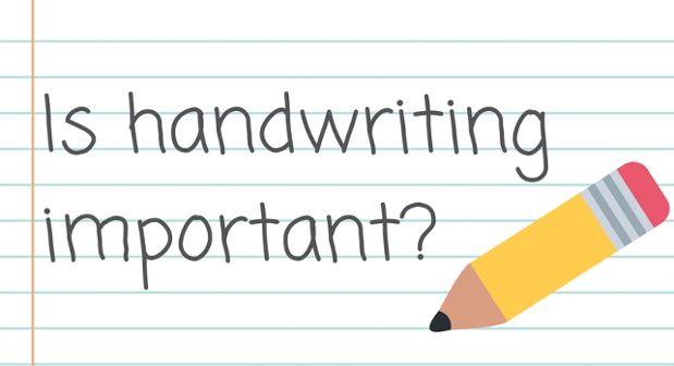 Why teaching handwriting is important