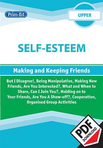 Self-esteem - Making and keeping friends: Upper eBook | SPHE | 5th