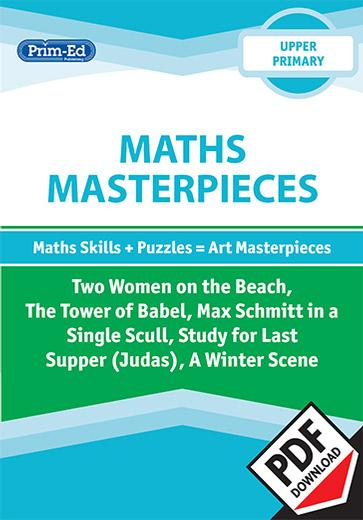 Maths Masterpieces - Two women on the beach/The tower of Babel/Max