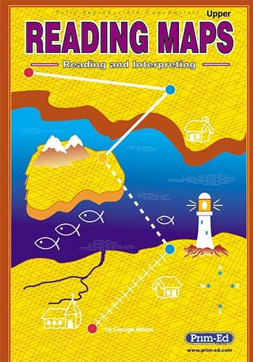 Reading Maps: Upper | SESE | 5th Class, 6th Class, Secondary